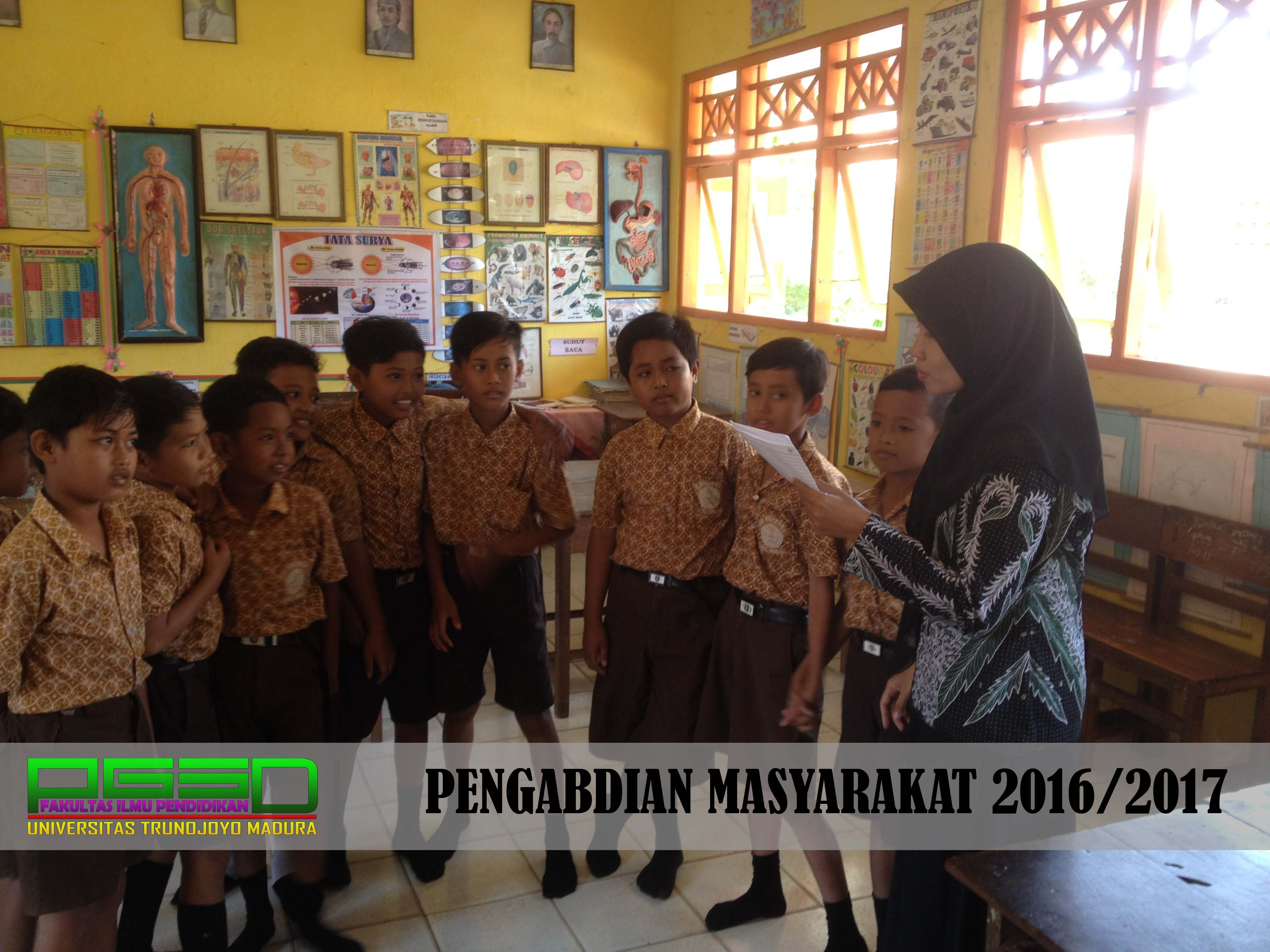 Pengabdian Dosen PGSD di SD Negeri Keleyan 1 Kecamatan Socah Kabupaten Bangkalan